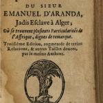 Llibro de Emanuel d'Aranda - siglo XVII
