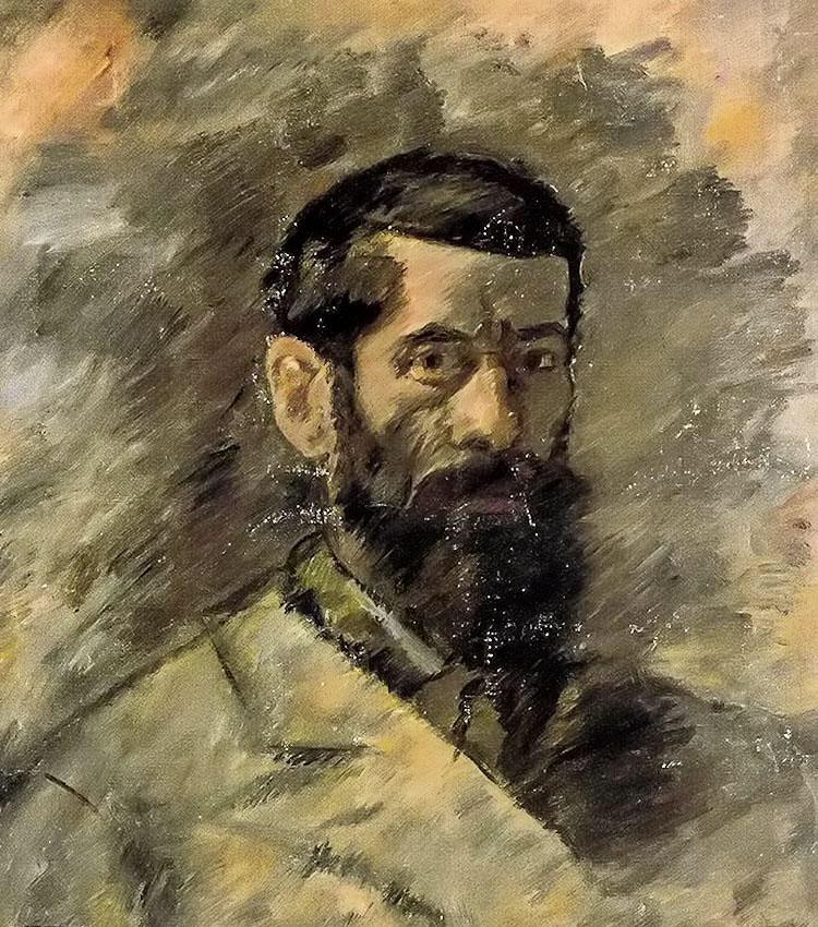 Francisco Iturrino. Autorretrato.