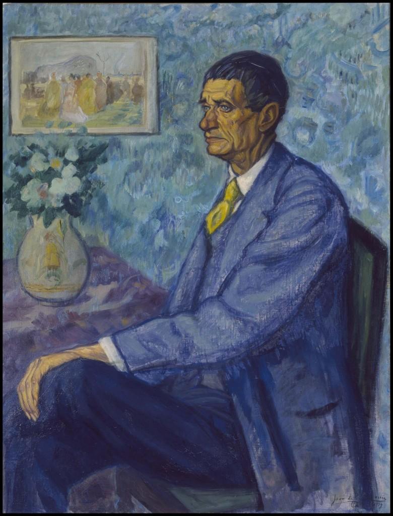 Juan de Echevarría. Retrato de Iturrino