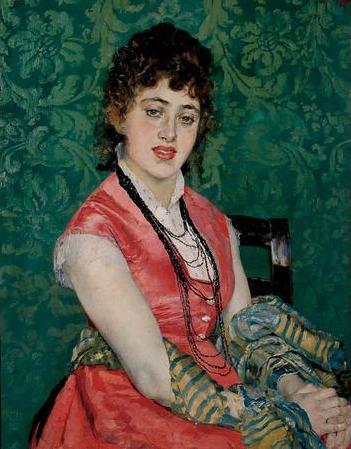 Aline Masson. 1878. Óleo sobre lienzo. 78 x 63 cm