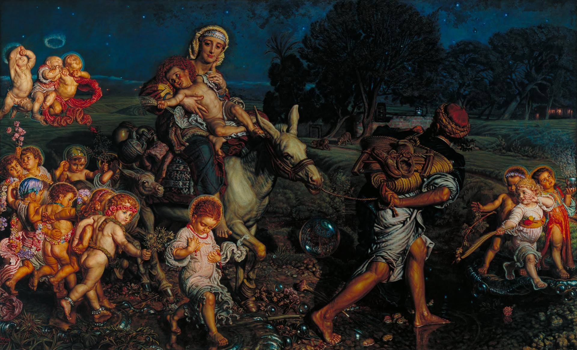William Holman Hunt - El Triunfo de los Inocentes