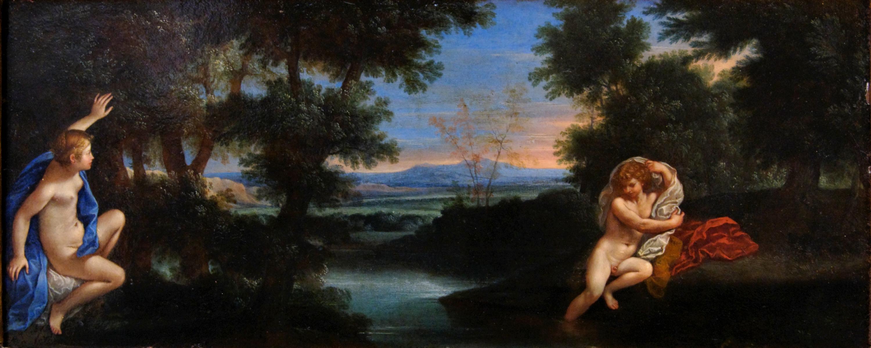 Hermaphroditus y Salmacis (s. XVII). Francesco Albani.
