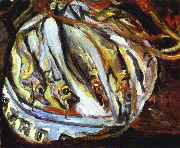 Pescado (1921). Chaim Soutine