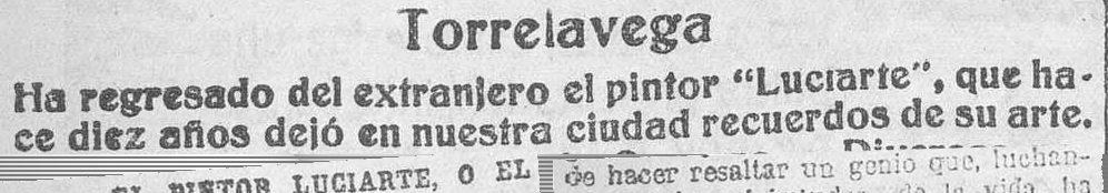 Recortes de El Cantábrico - 1932